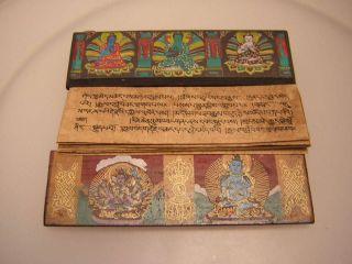 Manuskript Aus Tibet (tibet Manuscript 11) Bild