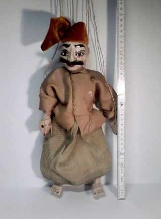 Alte Handgefertigte Marionette Aus Mandalay,  Burma/myanmar Bild