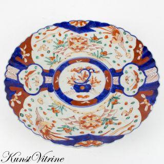 Alter,  Bemalter Teller Aus Porzellan,  China,  Um 1900,  Durchmesser 31 Cm Bild