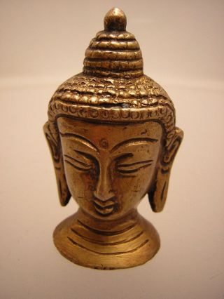 Buddha Kopf Aus Tibet - Nepal (buddha Head 6) Bild