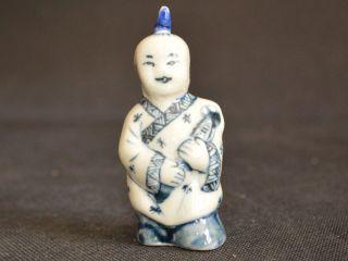 Sammeln Altes Chinesische Blau - Weiß - Porzellan,  Handbemalt Kloster Snuff Bottle Bild