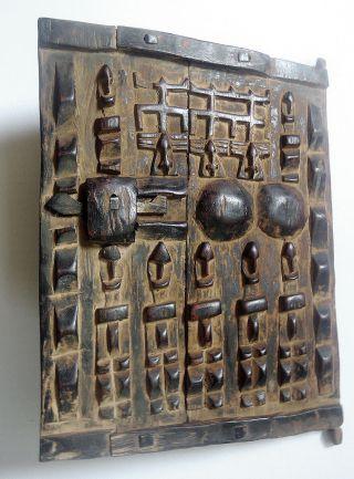 Dogon Speichertür,  Dogon,  Mali,  Dogon Door,  Dogon,  Mali,  Höhe 43 Cm X 31 Cm Bild