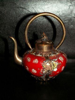 Affen Drachen Drache Phönix Teekanne Reisschnaps Tee Kanne Gefäß Affe Monkeyefäß Bild