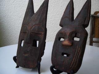 2 Afrikanische Masken Bild