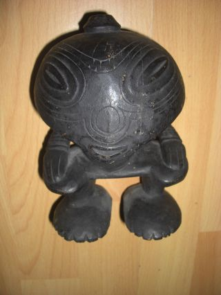 Antike Rituelle Holz Figur Png Ramu River - Oceanie - Südsee - Png Bild