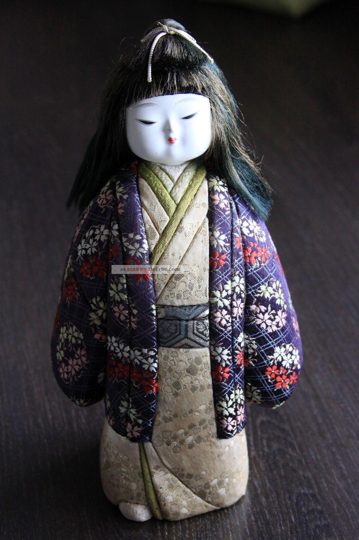 Japanische Kimekomi Ningyo Puppe,  Handmade,  Rar,  Sehr Schön Entstehungszeit nach 1945 Bild