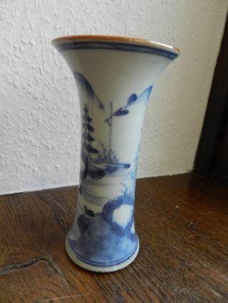 Antike Porzellan Vase Kanton China Um 19.  Jh Bild