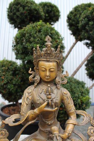 Vajrasattva Buddha Tantra Statue Bronze Figur Buddhismus Skulptur Dorje Ghanta Bild