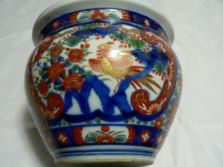 Alter Schöner Blumentopf Keramik Übertopf China Oder Japan Gemarkt Bild