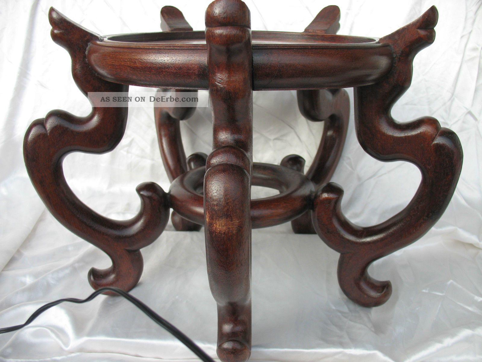 alter grosser holz hocker podest untersetzer china f r bodenvase. Black Bedroom Furniture Sets. Home Design Ideas