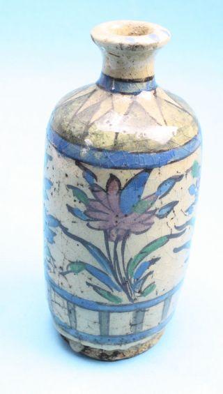 Vase Keramik,  Persien Florales Dekor,  Um 1800 Bild