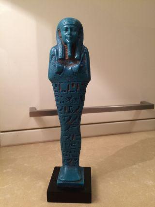 Shabti Psamtik Figur Statue Pharao Ägypten British Museum Napoleon - Ansehen Bild