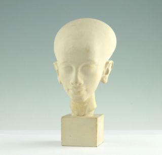 Kopf Einer ägyptischen Prinzessin Ägypten Berlin Museumsreplik Stuck Büste Bust Bild