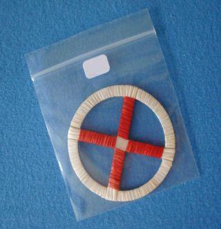 Lakota Medizinrad Aus Stachelschweinborsten,  Medicine Wheel 4 Directions Aus Usa Bild