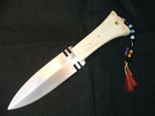 Beaver Tail Dagger,  Einzelstück,  Handgearbeitet Bild