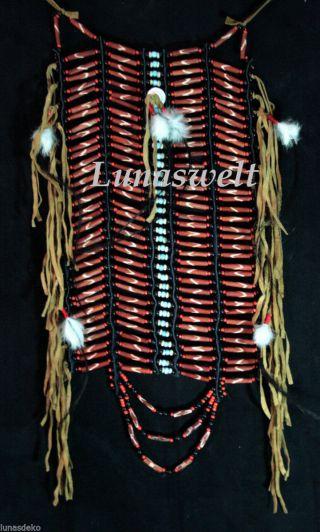 Chöker Brustpanzer Indianer Bild