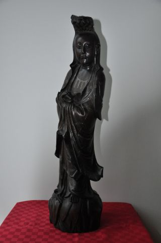 Madonnen - Statue,  Chinesische Statue,  Frauen - Statue,  China,  Afrika - Kellerfund Bild