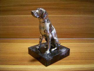Jagdhund Plastik,  Skulptur Aus Der Zeit Zwischen 1900 Und 1930 Bild