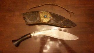 Antikes Gurka - Messer Bild
