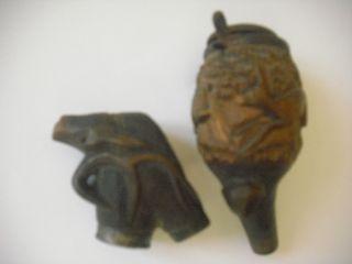Alter Pfeiffenkopf,  Geschnitzt Bild