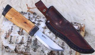 Jagd -,  Angel -,  Outdoormesser,  Helle Knife - Handarbeit Bild