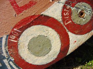 Schießscheibe Von 1901 Scheunenfund Antiquität Militaria Dachbodenfund Rarität Bild