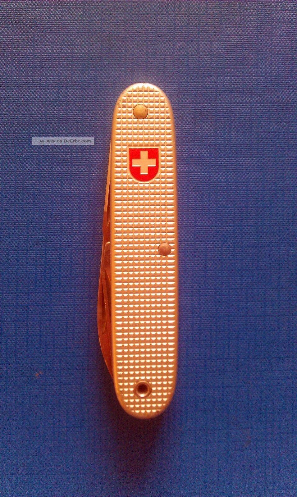 Schweizer Soldatenmesser Victorinox 1989 / Alox / Sak / Swiss Knife / Soldier Jagd & Fischen Bild