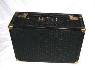 Maison Mollerus Koffer Luxus Klassiker Vinerus Black Bild
