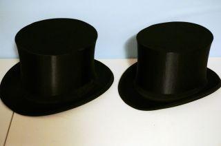 2 Zylinder,  Clacque Chapeau Von 1914,  Hergestellt In Meissen Bild