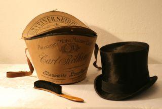 30er Jahre Zylinder Chapeau Claque Bild