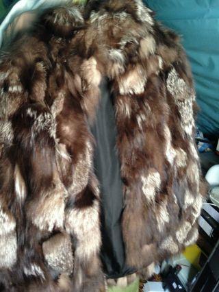 Fuchspelz Damenmantel - Np 2500 Dm - - Rarität Bild