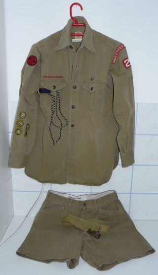 Pfadfinderuniform Aus Den Usa Bild