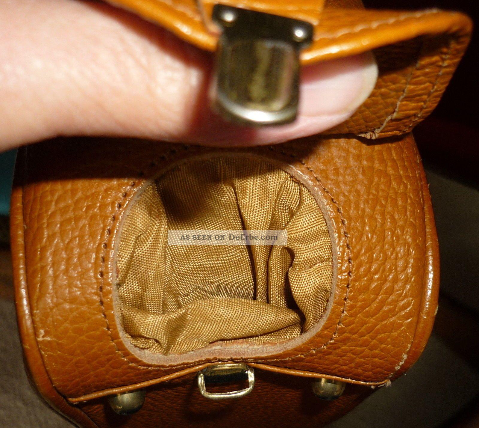 50er jahre handtasche umh ngetasche leder vintage. Black Bedroom Furniture Sets. Home Design Ideas
