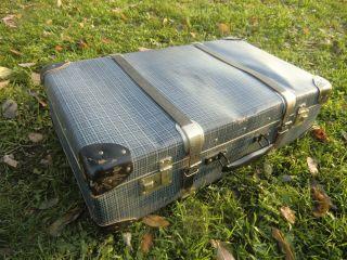 Alter Koffer Hartplatte Um 1950 - 60 ??? F.  Oldtimer Bild