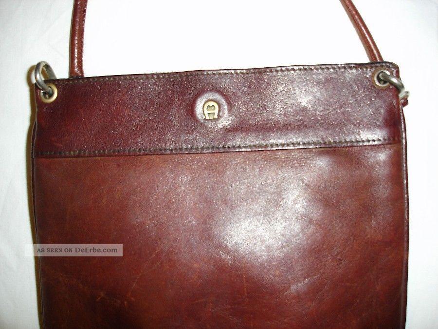 new products factory outlets speical offer Vintage Tasche Echt Leder Etienne Aigner Um 1960 Erhalten ...
