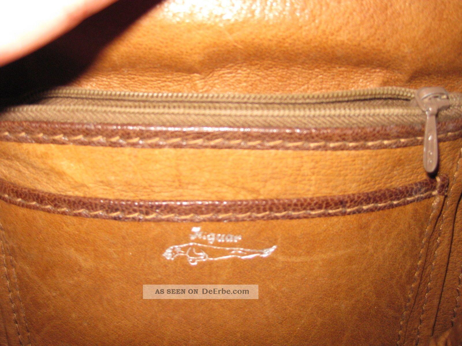 2a352c7403caa Echte Tasche Handtasche Ledertasche OrigJaguar Sehr Kroko Schöne 3c5ARSjq4L