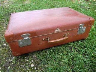 Alter Koffer Vulkanfieber Kindelbrück Um 1950 - 60 ??? F.  Oldtimer Bild