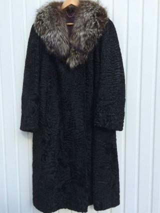 Persianer mantel modern