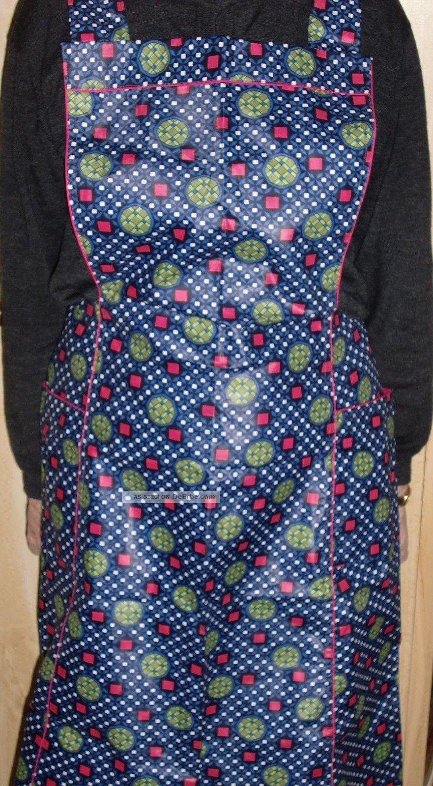 Speicherfund Kuchenschurze Tragerschurze Bunt Vintage Mode Oma S Nachlass