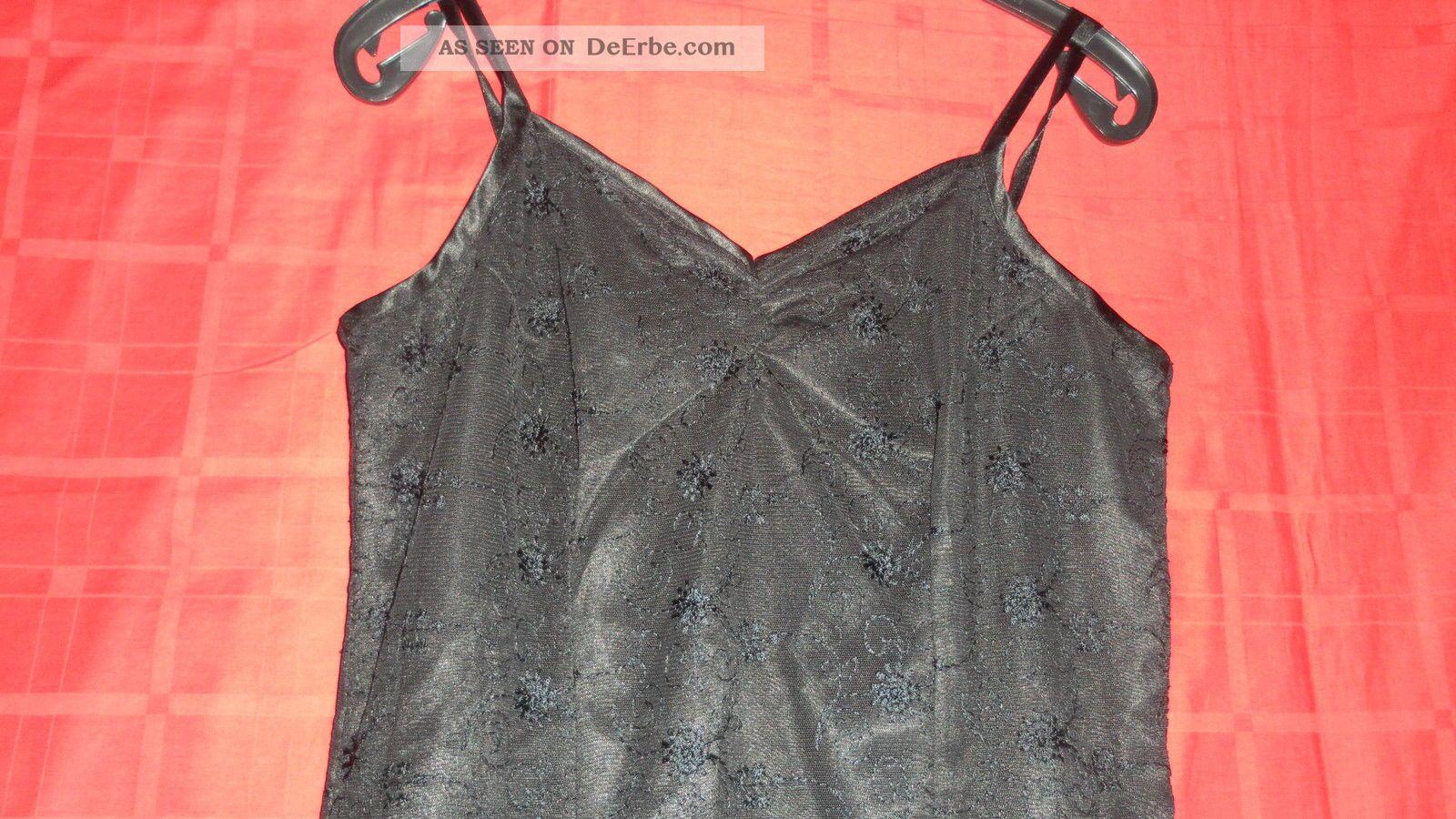 True Vintage Schwarzes Spitzen Kleid Abendkleid ...