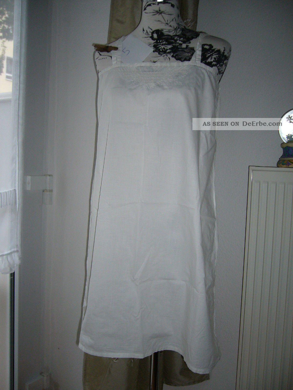 oma s wei w sche sehr altes nachthemd 1900 1920 antik shabby chic oberteil. Black Bedroom Furniture Sets. Home Design Ideas