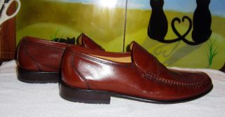 Llyod Classic Egmond Braunes Echt Leder Gr 11 ½ Halbschuh Bild