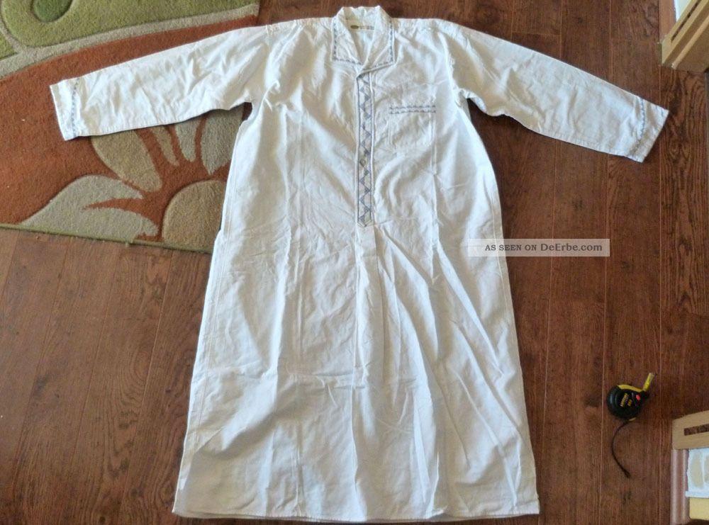 Nachthemd männer weiß