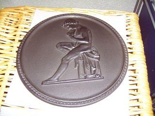 Shw Relief Gusseisen Römische Schüler Bzw.  Knaben Antik Kunstguss Platte Bild