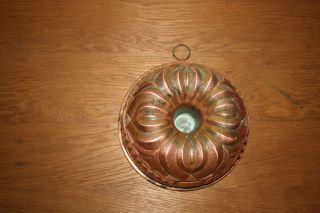 Alte Kupfer Backform Gugelhupf Deco Gugelhuopfform Aus Kupfer Bild