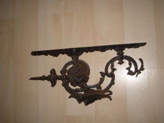 Eisen Ständer Kerzenständer Antik Shabby Rar Unbekanntes Objekt Bild