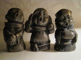Zinnfiguren,  Drei Singende Mönche Bild