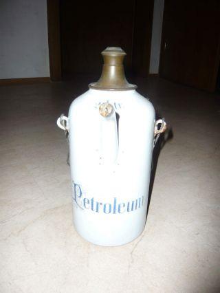 Alte Petroleumflasche Bild