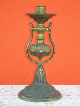 Blaker Kerzenhalter Aus Messing Oder Bronze Um Ca.  1960 Bild