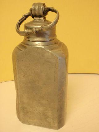 Zinn Flasche Mit Verschluss Punze 1710 Mt Aus Nachlass Bild